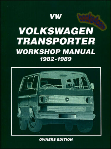 VANAGON SHOP MANUAL SERVICE REPAIR BOOK VW WESTFALIA CAMPER TRANSPORTER HAYNES