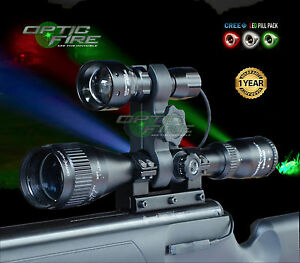 Opticfire ® TX-38 DEL T38 Deluxe-Suprême Scope Gun Light Kit Chasse torche Lampe-afficher le titre d`origine VKfOA1AU-07141243-944248122