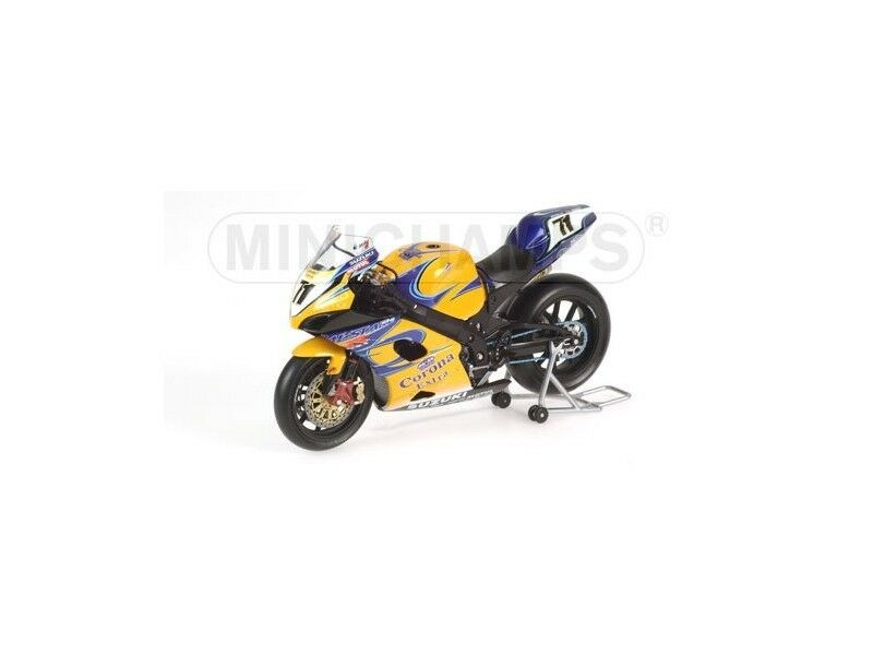MINICHAMPS MODELLINO MOTO SUZUKI GSX-R 1000 K6 CorNA Y. KAGAYAMA SBK 2006 1 12