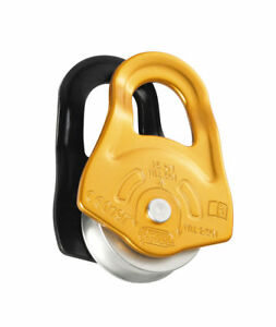 PETZL PARTNER - Compact pulley with swinging side plates