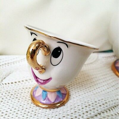 New Limited Edition Beauty and the Beast Mrs Potts' son Chip Mug Tea Coffee Cup