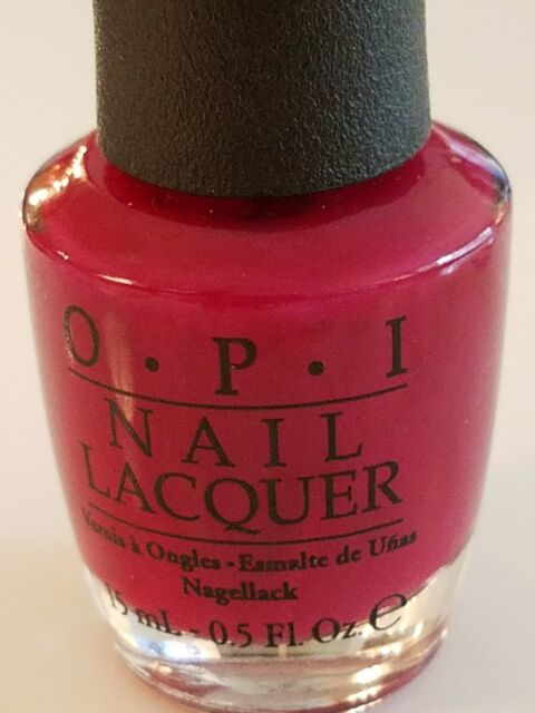 OPI Nail Polish Houston We Have a Purple T18 Dark Magenta Ship for ...