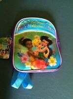 Disney Fairies Toddler Polyester/plastic Backpack Approx.11 X 9 X 3in Age 2+