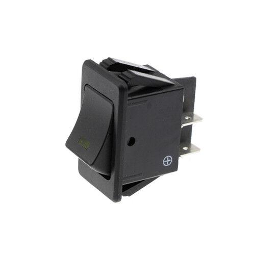 Schalter ein//aus 12V 20A orange LED Wippschalter