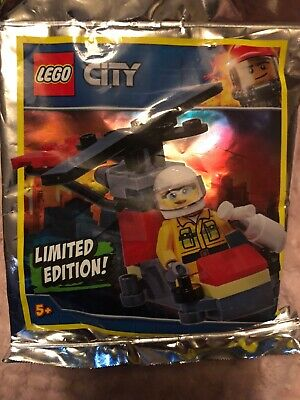 Lego CiTY POLICEMAN /& MINIJET 951901 Limited Edition New Sealed
