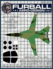 Furball Aero Ms013 1/48 F-111 Aardvark Vinyl Mask Set for Academy
