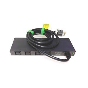 Server Tech Technology CW-16V2-L30M Switched CDU PDU 208-240V 24A 16-C13-Outlets