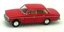 Volvo 144 berline rouge - Brekina - 1/87 (HO)