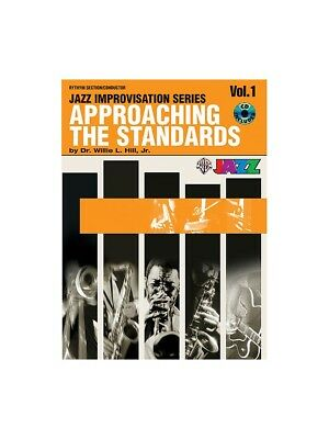 Percussion Approaching The Standards Musical Instruments & Gear Rhythm Section Conductor Drums Sheet Music Book & Cd