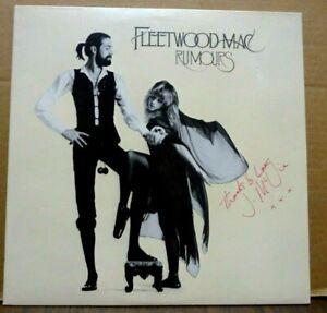 FLEETWOOD MAC Rumours LP Signed/Autographed John McVie ORIGINAL 1977 MINT-!