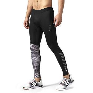 Détails sur Dernier Reebok One Series Crossfit Cf Compression Pantalon Boue Tough Mudder Homme afficher le titre d'origine