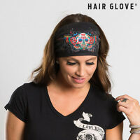 Hair Glove® Roadie Bandz, Mardi Gras W/gems, 50132 Stretch Fabric Head Band