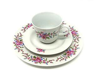 Kaffee-Service-Set-I-Ilmenau-Graf-von-Kenneberg-I-Tasse-Teller-Kuchen-I-DDR