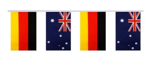Australien 15x22cm Freundschaftskette Fahnen Flaggen Deutschland