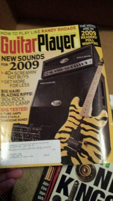 Guitar Player magazine may 2009 RANDY RHOADS 80S ROCK free usa ship