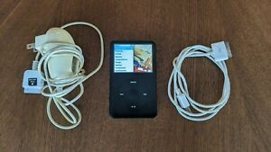 Apple-iPod-Classic-6th-Gen-A1238-80GB-Black-Fully-Functional