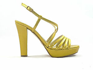 A buon mercatoJoel sandalo A702 giallo senape sulla vendita