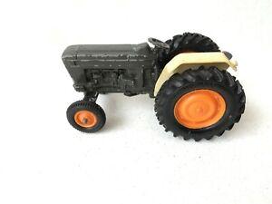 Britains Farm FORD 6600 Tractor In Grey & Orange Vintage Diecast