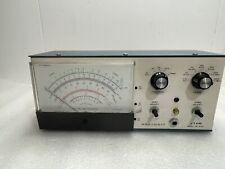 Vintage Heathkit Vtvm Model Im 5228 Amp Adjustable Stand Powers On
