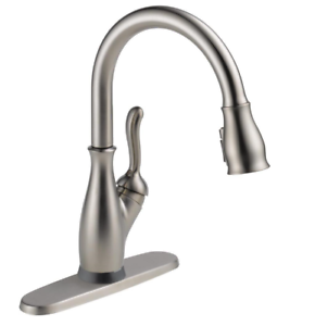 Details about Delta Faucet Leland Single-Handle touch Kitchen sink w/pull  down sprayer