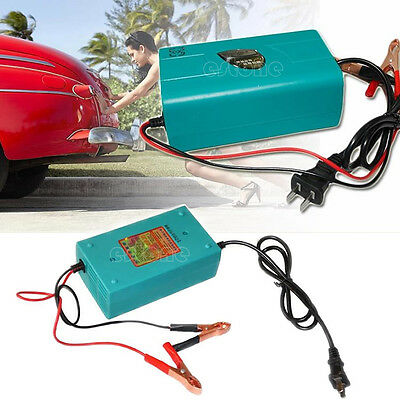 12V Motorcycle Car Boat Marine RV Maintainer Trickle Battery Automatic Charger