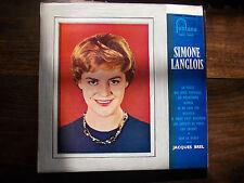 Simone Langlois -  disque fontana n° 660.214 MR