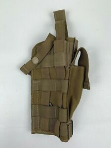 New-US-Army-USAF-Flame-Resistant-Aircrew-MOLLE-Pistol-Holster-Coyote-Brown