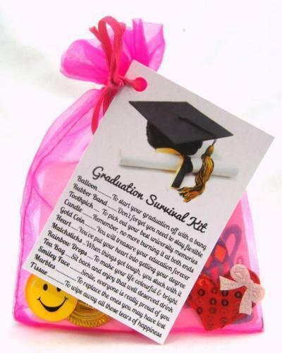 GRADUATION CELEBRATION SURVIVAL KIT GIFT BIRTHDAY CARD PRESENT PERSONALISED .