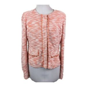 Pantone Collarless Coral Esley Sz Of Blazer Color The L Year gqvOgFEX