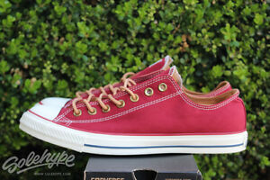 1ec52633593b70 CONVERSE ALL STAR CHUCK TAYLOR CTAS OX PEACHED SZ 12 ALLEY BRICK ...