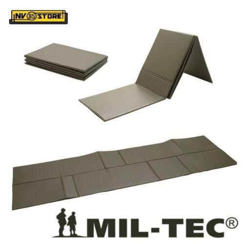 Materassino Pieghevole Sleeping Pad MIL-TEC MILTEC Isolante Chiudibile Verde OD