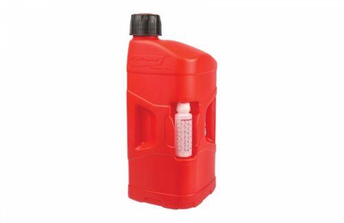 Polisport Pro Octane 20 L gas Gerry gasolina puede utilidad Jarra Y Manguera Caño Bender