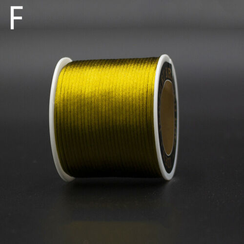 1 Roll Waxed Cotton Cord String Thread Rope Bracelet Jewelry Making Craft DIY