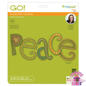 Accuquilt-GO-Fabric-Cutting-Die-Peace-by-Sarah-Vedeler-Quilting-Sewing-55305