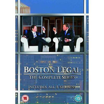 Boston Legal - Season 1-5 (DVD)