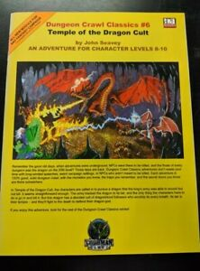 1x-Dungeon-Crawl-Classics-6-Temple-of-the-Dragon-Cult-Used-Fine-dungeon-crawl