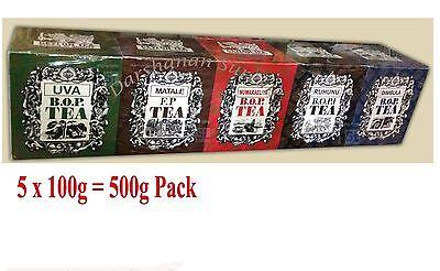 Pure Ceylon Black Tea - Mlesna Assorted Tea Collection