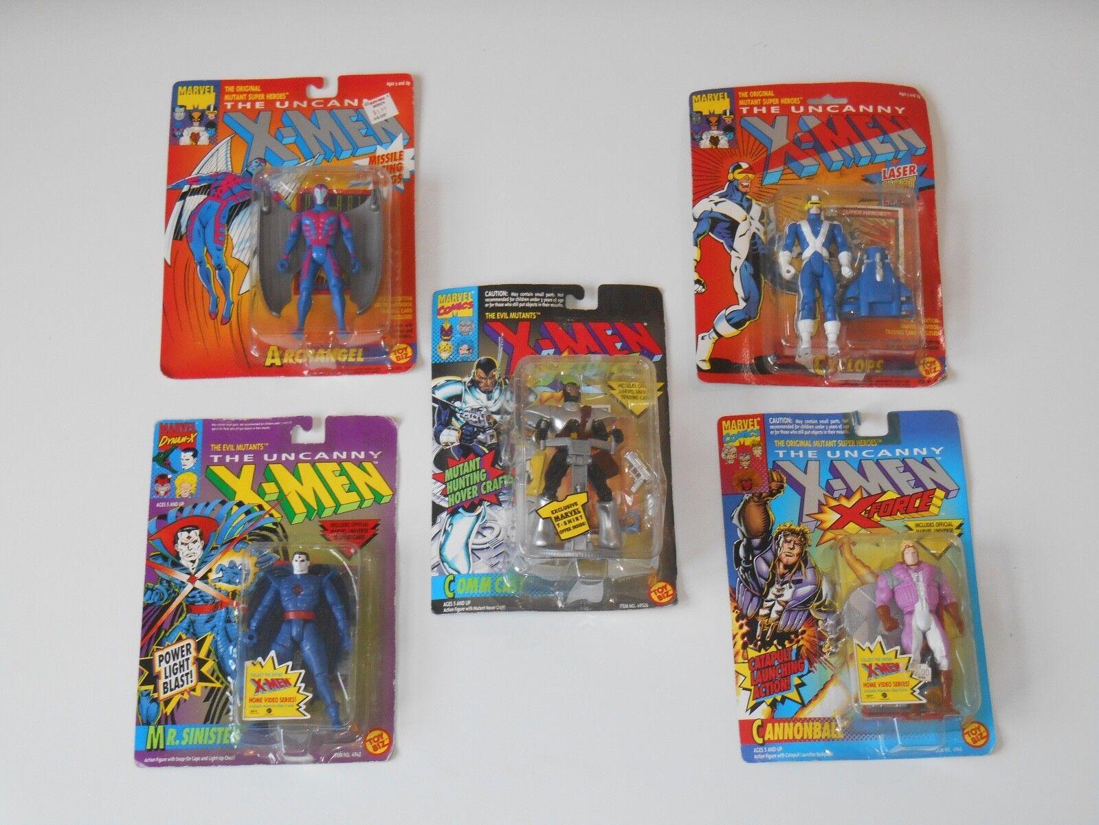 Ein neues spielzeug - biz marvel - comics  x - men  zyklopen erzengel herr finstere figur viel
