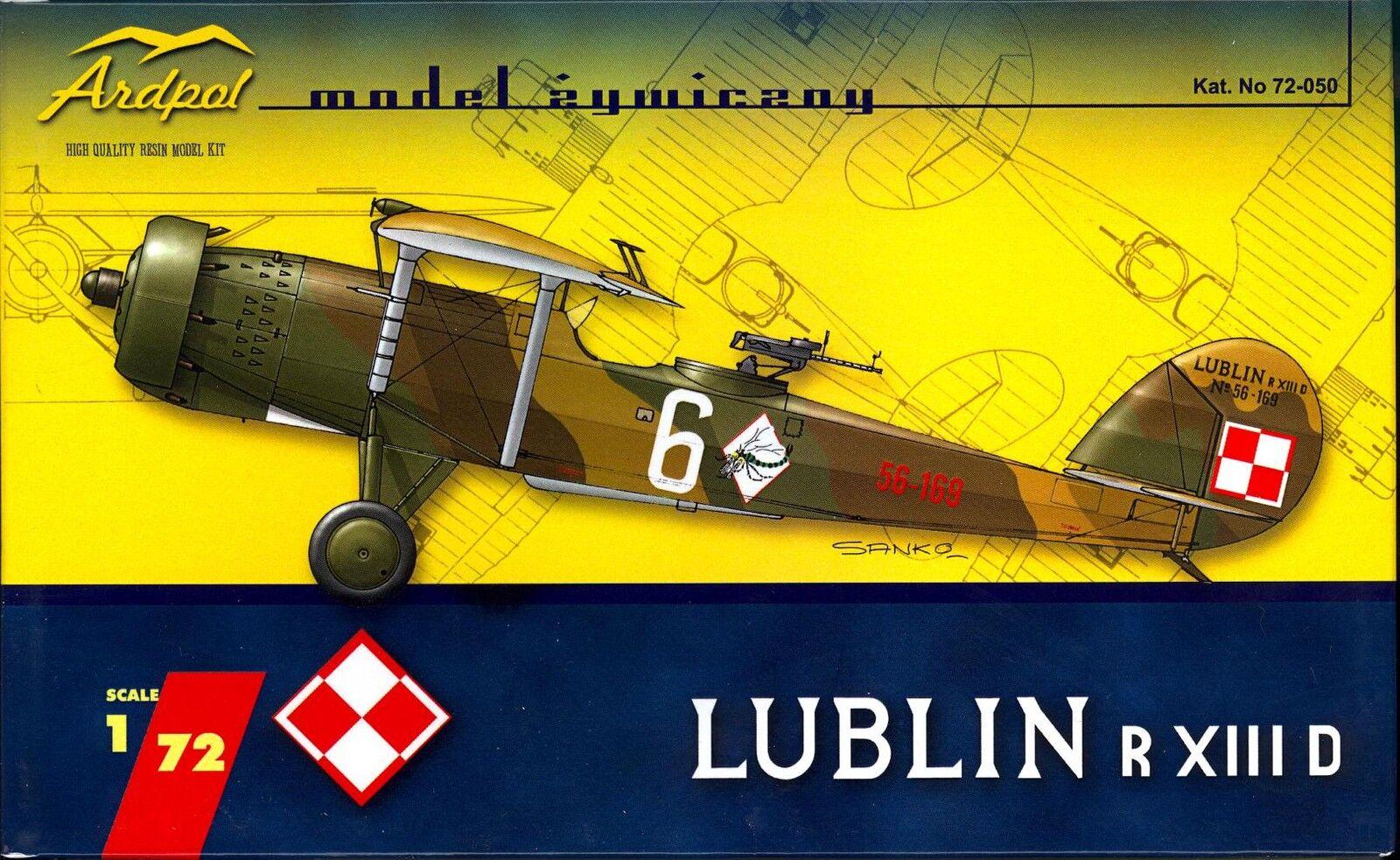 Ardpol Models 1 72 LUBLIN R.XIII D Polish Scout Bomber