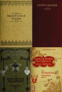 Details about 125 RARE BOOKS ON SECRET SOCIETIES, FORBIDDEN HISTORY,  ILLUMINATI, TEMPLE ON DVD