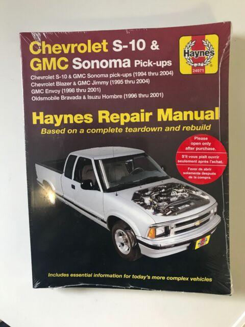 1994 Chevy GMC ST Truck Shop Manual Set Sonoma Jimmy S10 Pickup Blazer Chevrolet