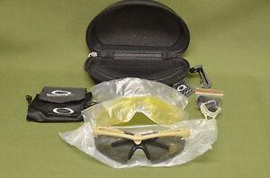 7c33f230fe Oakley SI M Frame 2.0 Ballistic Clear Yellow Grey Lens Shooting ...