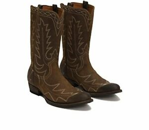 FRYE-87620-Men-039-s-Austin-Feather-Stitch-Pull-on-Boot
