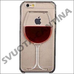 CUSTODIA-COVER-TPU-GOMMA-3D-BICCHIERE-CALICE-VINO-WINE-ROSSO-PER-IPHONE-SAMSUNG