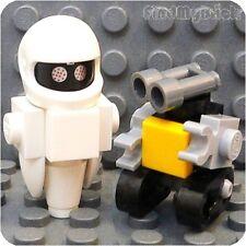 R5 M852 Lego Custom Wall-e & Eve Robot Lego Minifigures (33mm & 24mm Tall) NEW