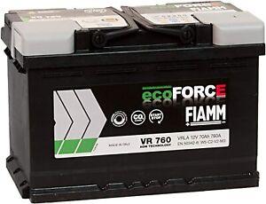 BATTERIA AUTO FIAMM VR760 ecoFORCE AGM START/&STOP 70Ah 760A 278x175x190