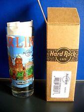 HRC Hard Rock Cafe Berlin City Tee V16 Shot Glass Schnapsglas New
