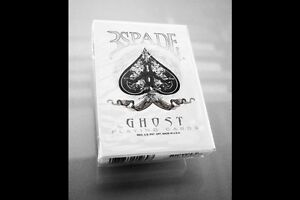 Bicycle Ellusionist Ghost Gaff Deck US Playing Cards Poker Magic New Sealed