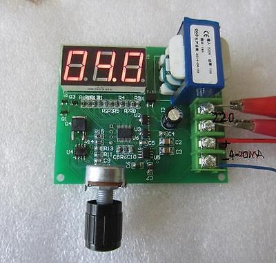 AC 220V, 4-20ma signal generator, manual, digital precision to 0.1MA