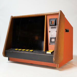 Amazing 1983 House of Cards Vintage Counter Bar Top Coin Operated Arcade Game